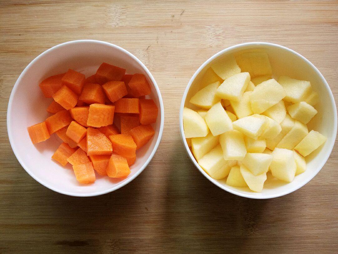 【v酒店果蔬汁】胡萝卜苹果汁酒店菜品宣传栏图片