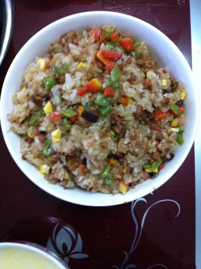 五彩糯米饭的做法 !-- 图解3 -->
