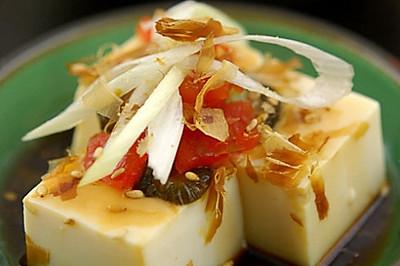 日式柴香小豆腐