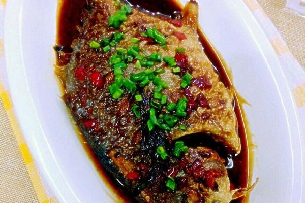 红烧金食谱美的面包机tsc2010鲳鱼图片