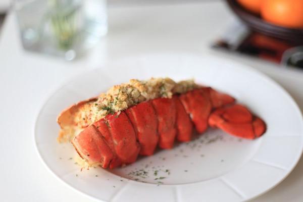 香酥烤龙虾尾的做法