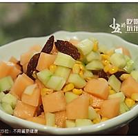 水果玉米沙拉:不用酱更健康