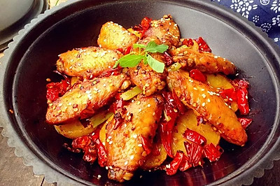 川味干锅鸡翅