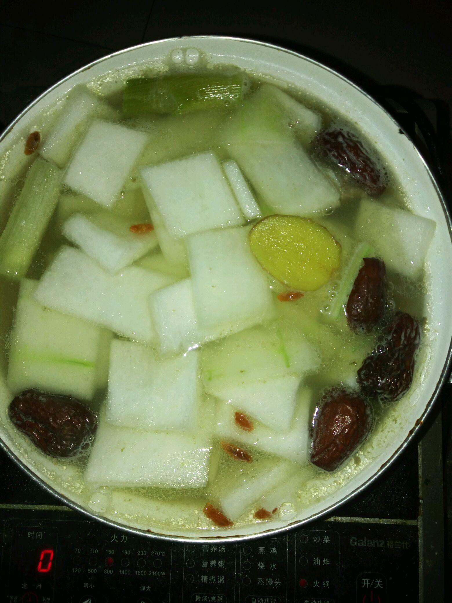 排骨冬瓜汤的做法图解3