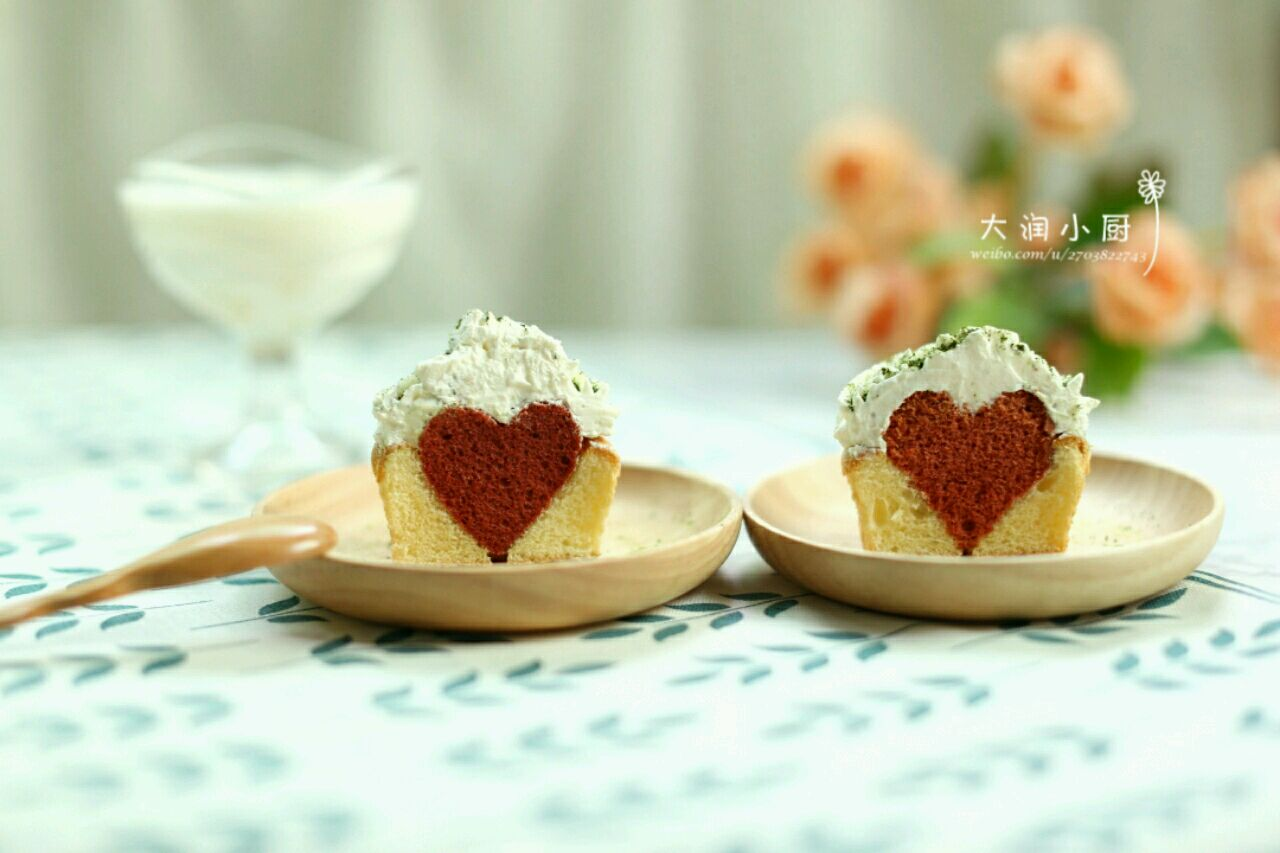 情人节甜品-简单爱蛋糕的做法步骤