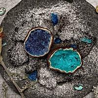 水晶熔洞蛋糕