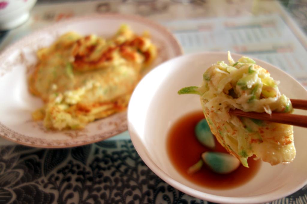 瓜菜饼子(鸡蛋西葫芦饼)的做法_【图解】瓜菜饼子(西)