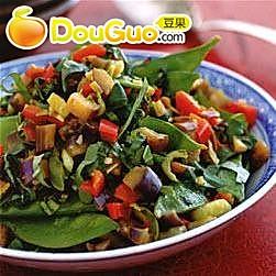蚝油姜蒜炒杂蔬的做法