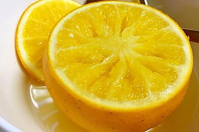 盐蒸橙子——止咳化痰。