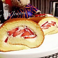 戚风奶油卷——最爱草莓多多