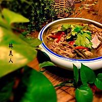 酸豇豆老鸭汤