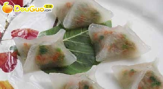 水晶冬瓜饺的做法