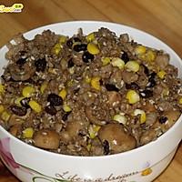 草菇玉米芝麻豆豉肉酱——豆果美食