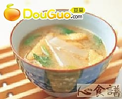 薄扬萝卜味噌汤的做法