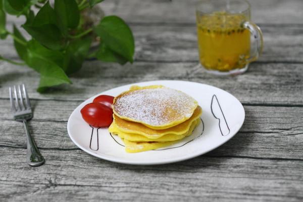 松软的香甜早餐鸡蛋饼的做法