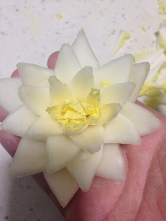 白莲花的做法图解10