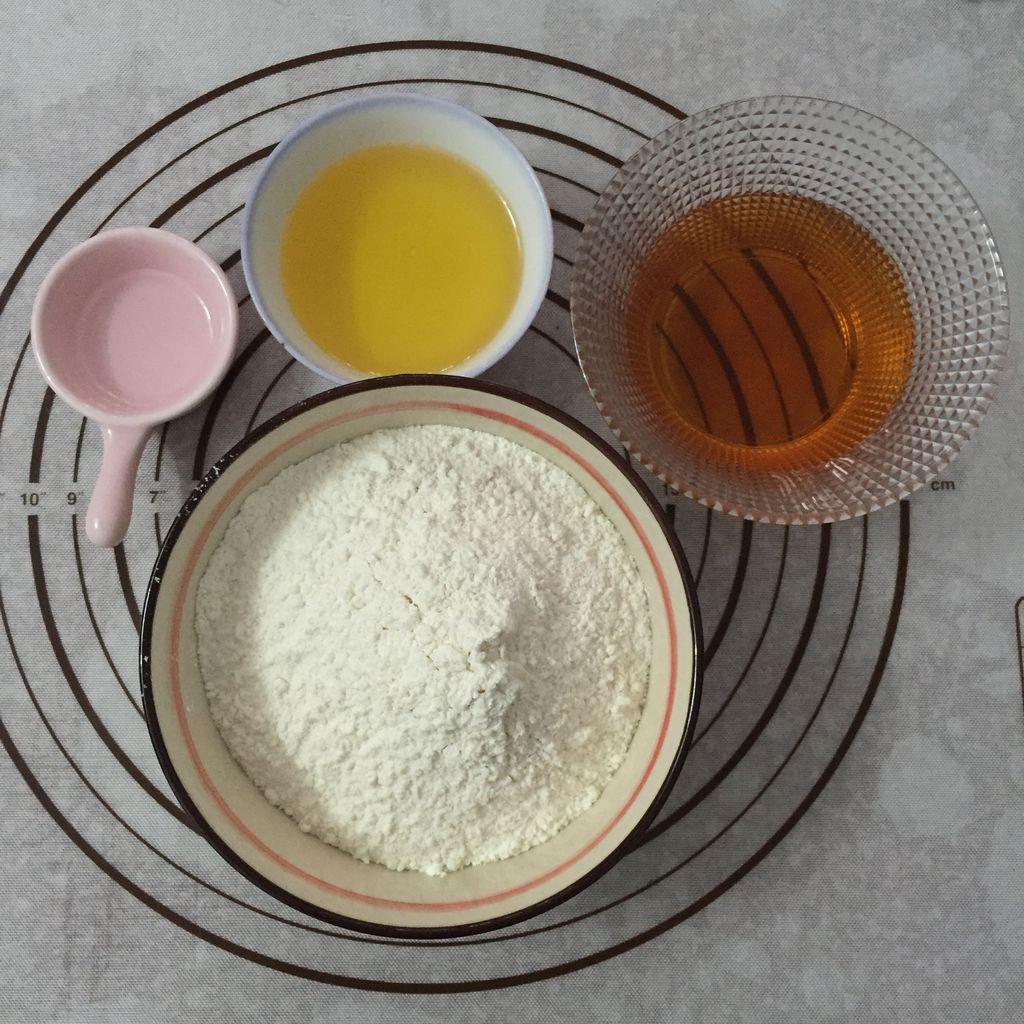 制作月饼的材料和步骤