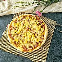 蕃茄玉米披萨#kitchenaid的美食故事#