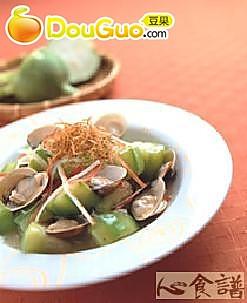 丝瓜烩蛤蜊的做法