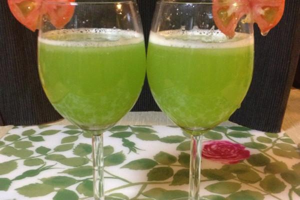 绿色双瓜瘦身汁的做法
