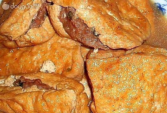 红烧夹肉豆腐的做法