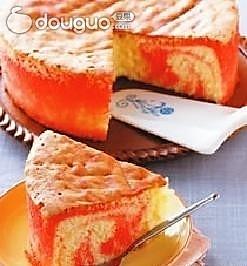 蔓越莓大理石蛋糕的做法