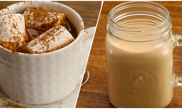 2种快手冬日特饮|太阳猫早餐的做法