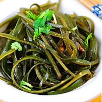 炝拌海带丝(减肥凉拌菜)