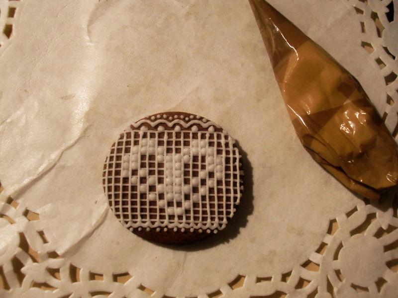 【手绘蕾丝饼干】可爱的你.可曾有一个美丽的梦