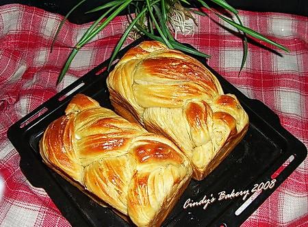 丹麦面包土司的做法_【图解】丹麦面包土司怎么做