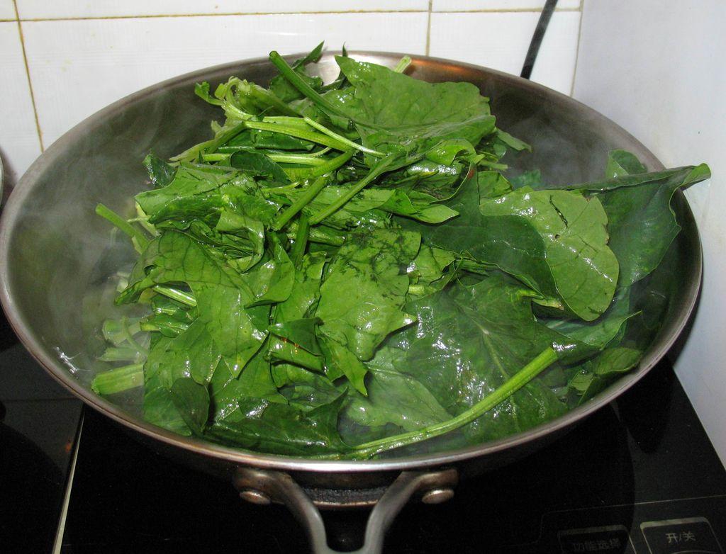 凉拌菠菜的做法步骤