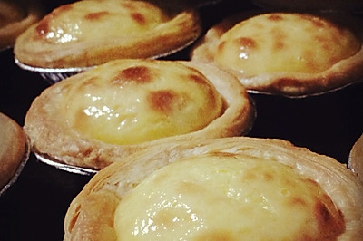 十分钟做蛋挞(后附蜜豆蛋挞和紫薯蛋挞做法)