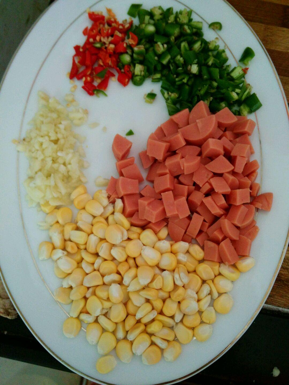 蛋炒饭的做法图解2
