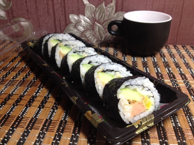 制作寿司的方法步骤图
