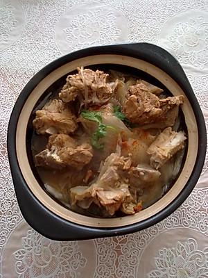 如何做排骨白菜砂锅_做排骨白菜砂锅的步骤_排骨白菜