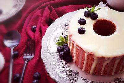 红丝绒中空戚风蛋糕