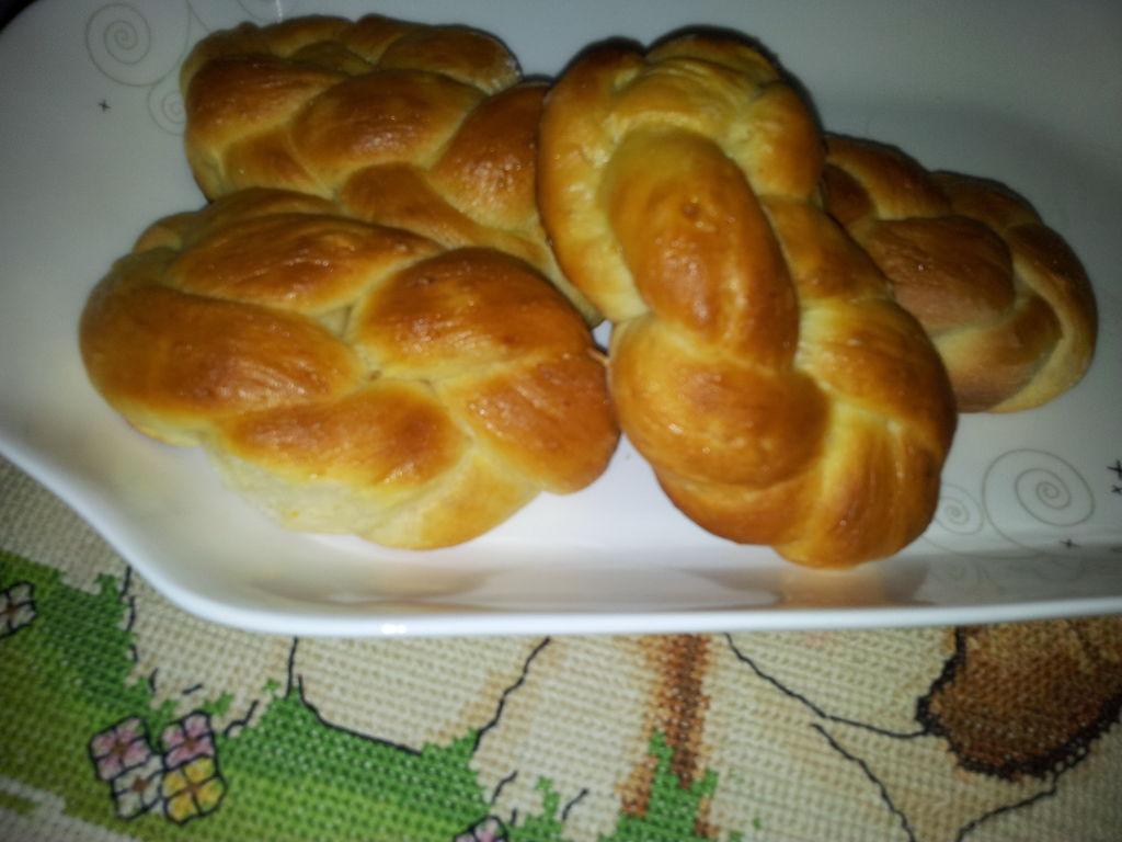 炒菜煲汤临锅时加入提鲜不口干 奶油玉米辫子面包的做法步骤 小贴士