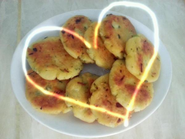 自制土豆饼的做法