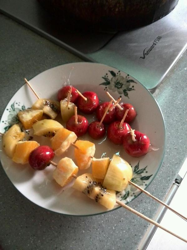 冰糖葫芦的做法