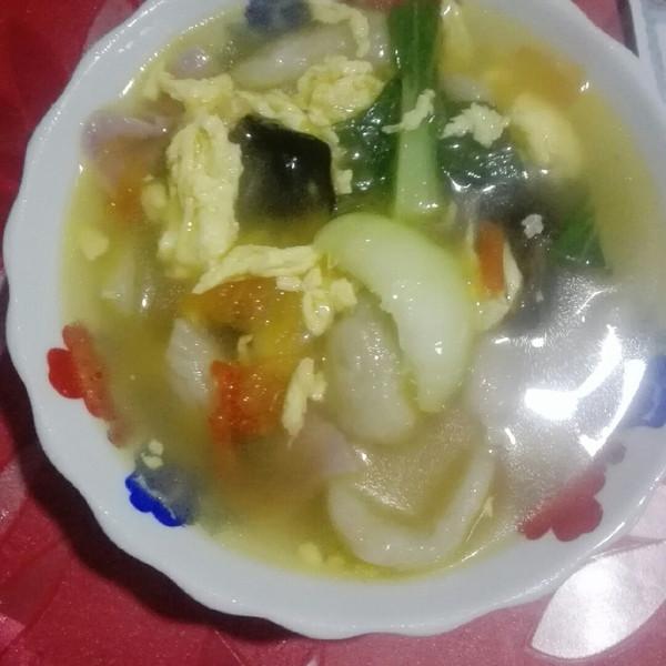 叶丽琴的这大概是我吃到过最神奇的面条--三鲜菜食谱大全家常菜黔图片