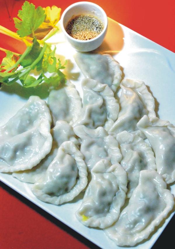 芹菜水饺的做法