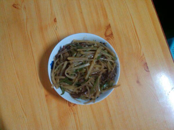 下饭的青椒土豆肉丝的做法