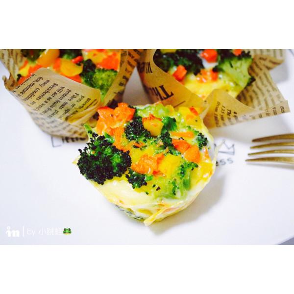 蔬菜牛奶鸡蛋杯的做法
