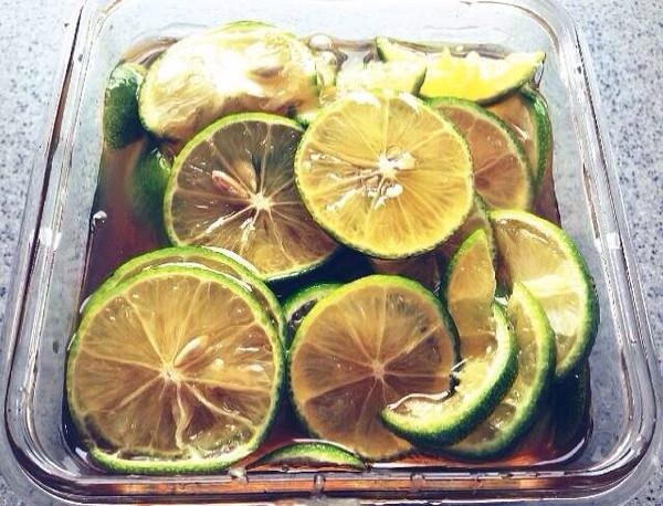 蜜渍青柠檬的做法
