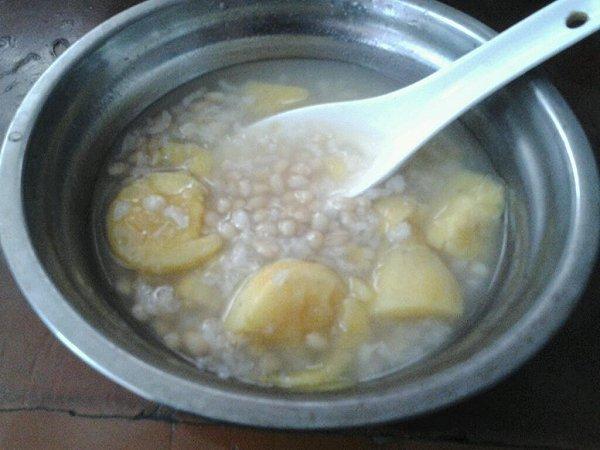 糯米小麦米红薯粥的做法
