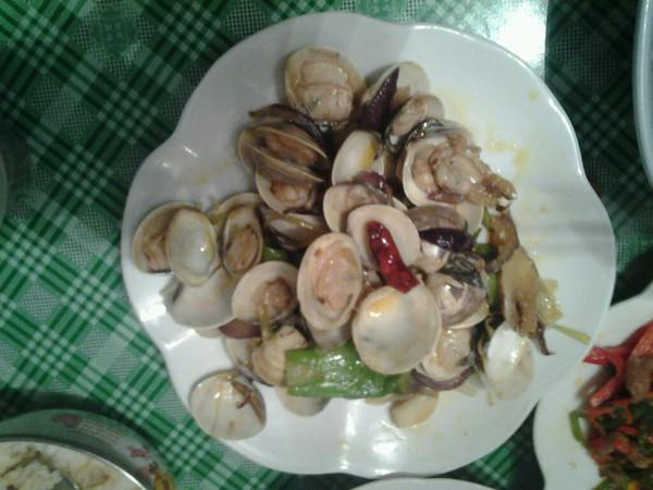 清炒蛤蜊的做法