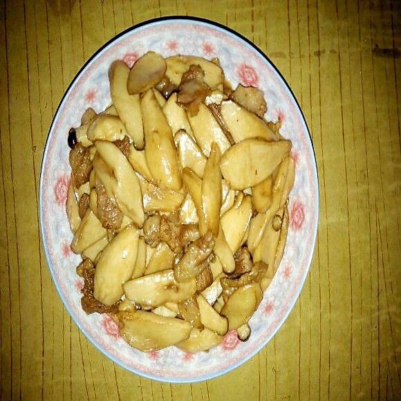 尖椒蚝油杏鲍菇的做法