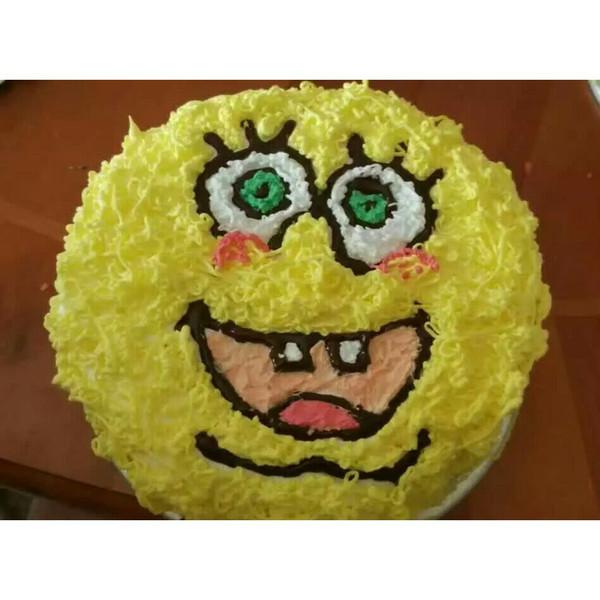 海绵宝宝蛋糕