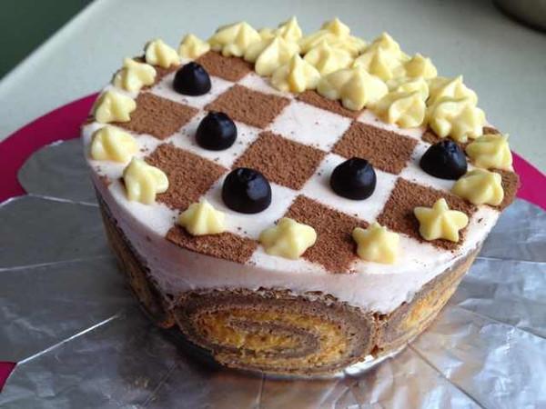 紫薯慕斯蛋糕的做法