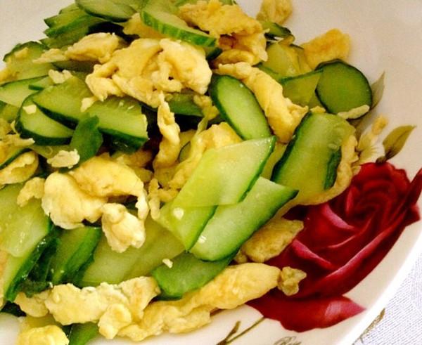 黄瓜鸡蛋的做法